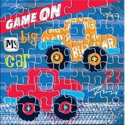 Παζλ puzzle 42τμχ αυτοκίνητα 42x42cm