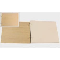 Βιβλίο ευχών ξύλινο 28.5x22cm