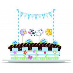 Σετ διακόσμησης τούρτας-1st Birthday Boy