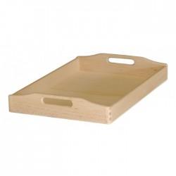 Δίσκος ξύλινος με λαβή 50x35x7 cm