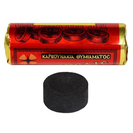 Καρβουνάκια Θυμιάματος 2.2 cm (Συσκευασία 6 Τεμαχίων)