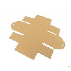 Κουτί χάρτινο πακέτο kraft (κραφτ) 6x4.2cm