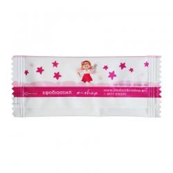 Αρωματικό μαντηλάκι σχέδιο μικρές ροζ νεράιδες 12x5 cm