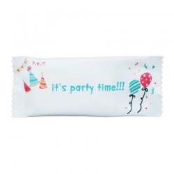 Αρωματικό μαντηλάκι σχέδιο it's party time 12x5 cm