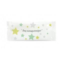 Αρωματικό μαντηλάκι σχέδιο αστέρια 12x5 cm