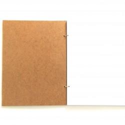 Βιβλίο ευχών ξύλινο αστόλιστο- Κάνε μια ευχή