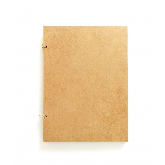 Βιβλίο ευχών ξύλινο αστόλιστο
