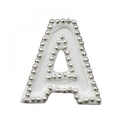Διακοσμητικό γράμμα Α για δίσκο μνημοσύνου