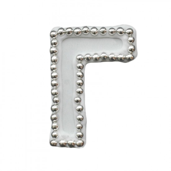 Διακοσμητικό γράμμα Γ για δίσκο μνημοσύνου