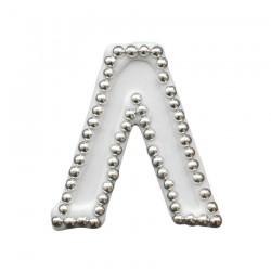 Διακοσμητικό γράμμα Λ για δίσκο μνημοσύνου