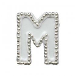 Διακοσμητικό γράμμα Μ για δίσκο μνημοσύνου