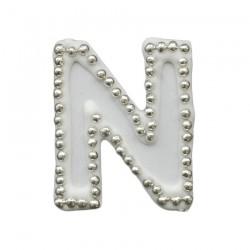 Διακοσμητικό γράμμα N για δίσκο μνημοσύνου