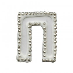 Διακοσμητικό γράμμα Π για δίσκο μνημοσύνου