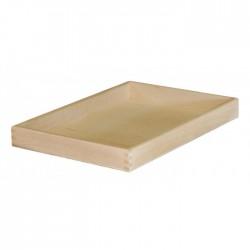 Δίσκος μνημοσύνου ξύλινος χωρίς λαβή 50x35x5 cm
