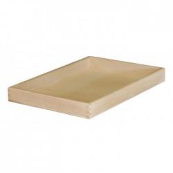 Δίσκος ξύλινος χωρίς λαβή 50x35x5 cm