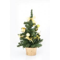 Δέντρο χριστουγεννιάτικο σε χρυσό χρώμα 26 cm