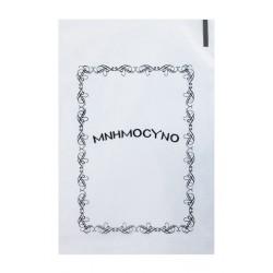 Σακουλάκι μνημοσύνου πλαστικό διάφανο τυπωμένο 17x25 cm