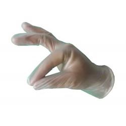 Γάντια βινυλίου διαφανή 100 τεμαχίων