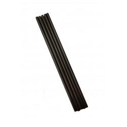 Καλαμάκι freddo μαύρο 18 cm χωρίς σελοφάν (1000 τεμαχίων)