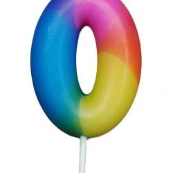 Κεράκι γενεθλίων αριθμός 0