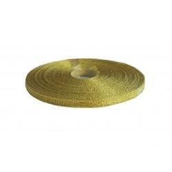 Κορδέλα lurex 6mm x 50 m- Xρυσό