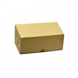 Κουτί χάρτινο καφέ (kraft) 19.3x15x8cm