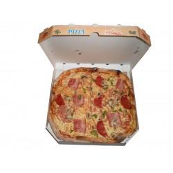 Κουτί χάρτινο πίτσας από μικροβέλε