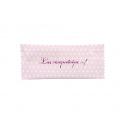 Aρωματικό μαντηλάκι 5x12cm ροζ πουά