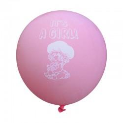 Μπαλόνια It's a Girl 6τμχ