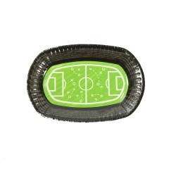 Πιάτο Party 24x16cm - Σχέδιο Ποδόσφαιρο 6τμχ