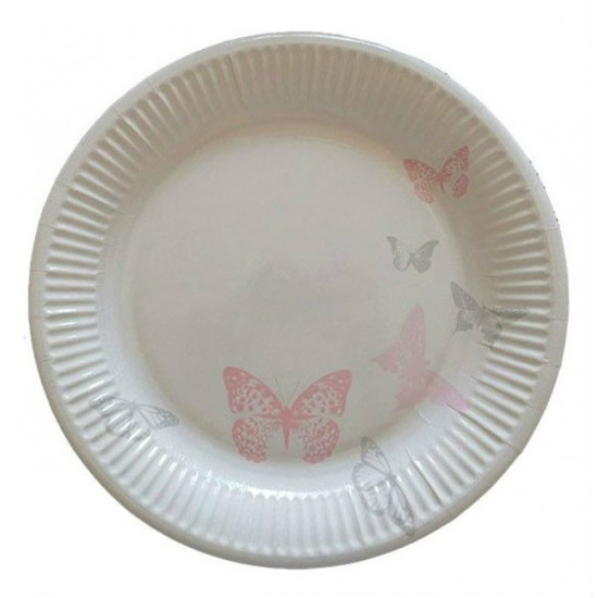 Πιάτο Party 23 cm - Σχέδιο πεταλούδες