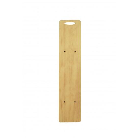 Ξύλινη πλάτη για λαμπάδα 7.5x35cm