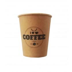 Ποτήρι χάρτινο καφέ μιας χρήσης 8oz