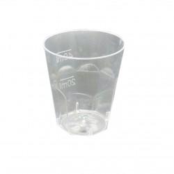 Πλαστικό διάφανο ποτήρι κονιάκ (PS) 50ml