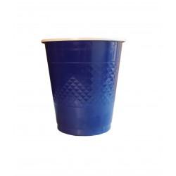 Ποτήρι πλαστικό 355 ml- Mπλε σκούρο