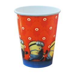 Ποτήρι Party Χάρτινο 266ml - Σχέδιο Minions