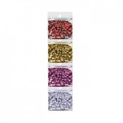Πούλιες διακόσμησης σετ 4 χρώματα