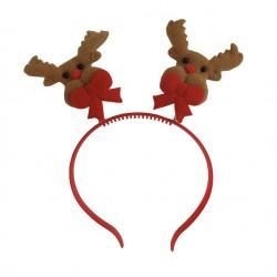 Xριστουγεννιάτικη στέκα ελατήριο σχέδιο ρούντολφ 21 cm