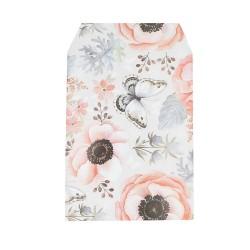 Σακουλάκι χάρτινο λουλούδια 10x13cm