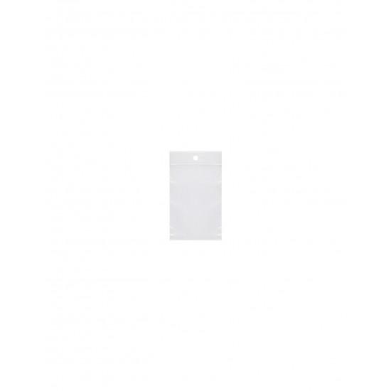 Σακουλάκι Ζιπ Zipper διάφανο με τρύπα 4x6 cm - 100 ΤΕΜΑΧΙΑ