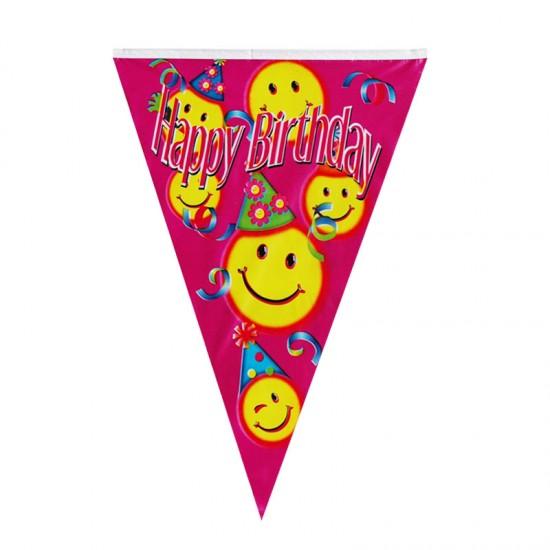 Σημαιάκι για πάρτυ - ροζ χρώμα
