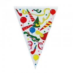 Σημαιάκι για πάρτυ - σερπαντίνες