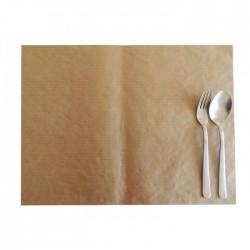 Σουπλά χάρτινο 40x30 cm - σχέδιο καφέ