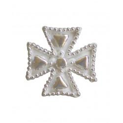Σταυρός διακοσμητικός για δίσκο μνημοσύνου 6x6 cm