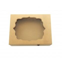 Ξύλινο κουτί αστόλιστο για τα στέφανα
