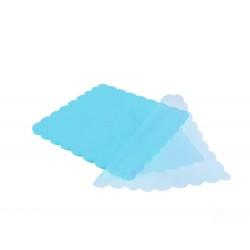 Τούλι οργάντζα συννεφάκι γαλάζιο 24x24cm 100τμχ