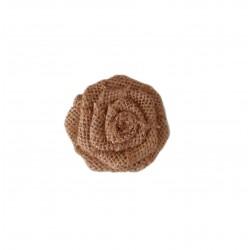 Τριαντάφυλλο διακοσμητκό λινάτσα 6cm