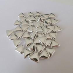 Αργυροκούφετα μνημοσύνου σχέδιο τρίγωνο 50 τεμάχια
