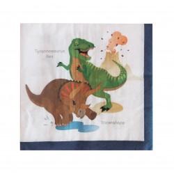Χαρτοπετσέτα Party 33x33 cm δεινόσαυροι 20τμχ