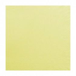 Χαρτοπετσέτα δίφυλλη χρώμα κρεμ 33x33 cm - τεμάχιο